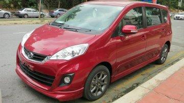 Malaysia - Perodua Alza facelift sighted ahead of tomorrow's launch