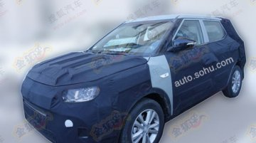 Spied - Ssangyong's mini SUV 'X100' snapped inside and out