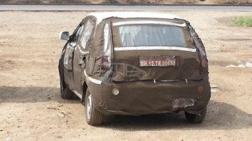 Spied - Tata Bolt ahead of its Auto Expo 2014 unveil