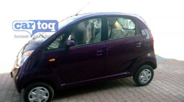Spied - Tata Nano Twist XT caught undisguised sporting all new instrument cluster
