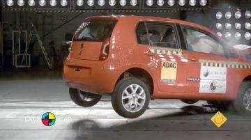 Brazil - VW Up! secures a maximum five-star rating in Latin NCAP crash test