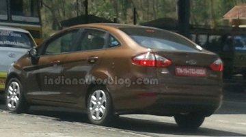 2014 Ford Fiesta Facelift Spy