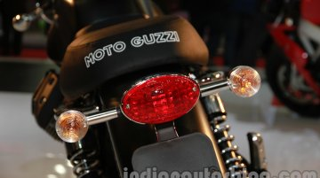Auto Expo Live - 2014 Moto Guzzi V7 showcased