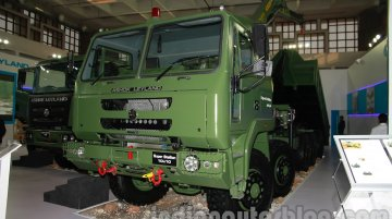 DefExpo India 2014 - Ashok Leyland Super Stallion 10X10 unveiled
