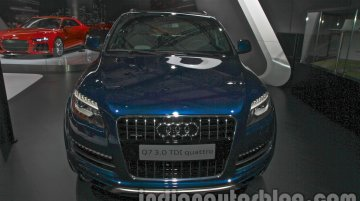 Audi Q7 Special Edition at the 2014 Auto Expo