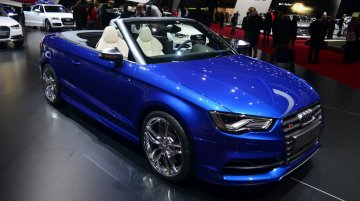 Geneva Live - Audi S3 Cabriolet unveiled, launching in Germany in June