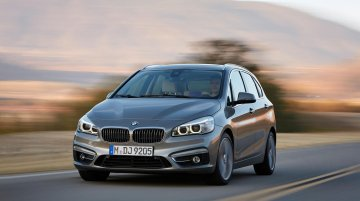 BMW reveals front-wheel drive, 3-cyl, 2 Series Active Tourer