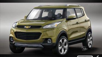 IAB Rendering - EcoSport-challenging Chevrolet Adra sub-4m SUV production model