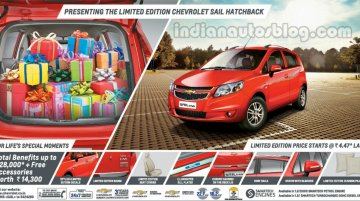 IAB Report - Chevrolet Sail U-VA Limited Edition launched at 4.47 lakhs