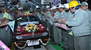 IAB Report - Final Maruti 800 rolled out, spare parts to be available for 8-10 years