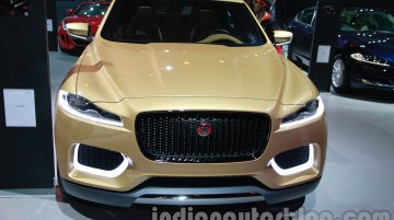 Auto Expo Live - Jaguar C-X17 crossover concept showcased