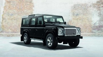 Land Rover Defender Black Pack & White Pack editions (current gen)