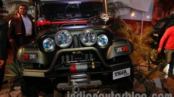 Mahindra Thar Midnight Edition at the 2014 Auto Expo - Image Gallery (Unrelated)