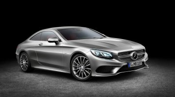 New Mercedes-Benz S-Class Coupe officially revealed, debuts in Geneva next month