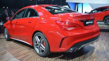 Mercedes-Benz CLA 45 AMG at 2014 Auto Expo