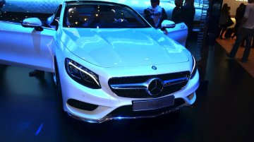 Geneva Live: Mercedes S-Class Coupe