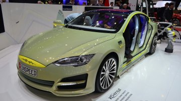 Geneva Live - Rinspeed XchangE based on Tesla Model S