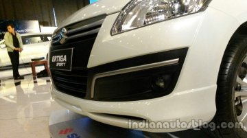 Suzuki Ertiga Sporty - Image Gallery from the launch