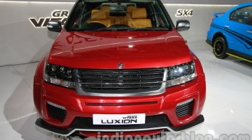 Suzuki Grand Vitara Luxion at the 2014 Auto Expo