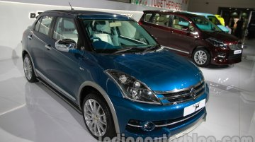 Auto Expo Live - Maruti Swift Dzire Opula and SX4 Sport showcased