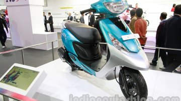 Auto Expo Live - TVS Scooty Zest 110 cc revealed [Image Gallery updated]