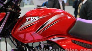 TVS Star City+ at 2014 Auto Expo