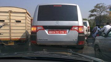 Spied - Tata Movus caught with its badges