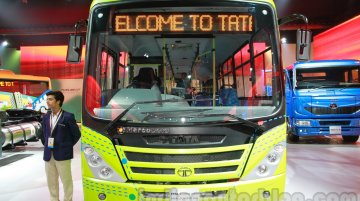 Tata Marcopolo Starbus Urban Hybrid Concept with AMT