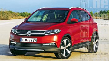 Rendering - VW Polo-based mini SUV under consideration