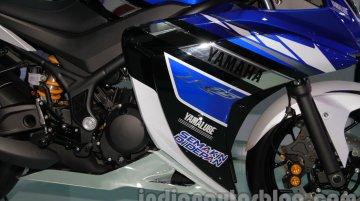 Yamaha R25 Concept at Auto Expo