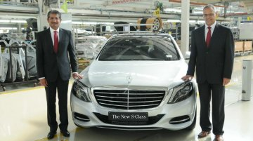 IAB Report - 2014 Mercedes S Class price drops by 20 lakhs as local assembly begins