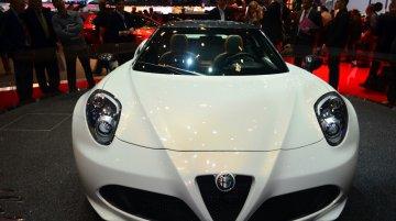 Alfa Romeo 4C Spider - Geneva