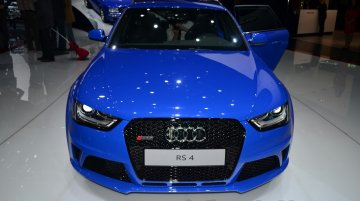 Geneva Live: Audi RS4 Avant Nagaro special edition [Update - Presented in Goodwood]