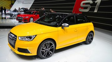 Geneva Live: Audi S1 Sportback unveiled, launching in Germany in Q2, 2014