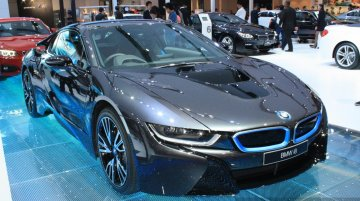BMW i8 at 2014 Bangkok Motor Show