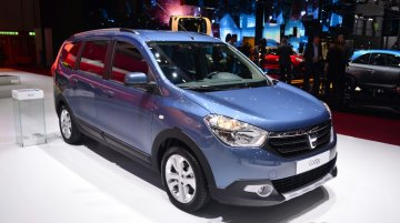 Dacia Lodgy at the 2014 Geneva Motor Show