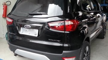 Brazil - Ford EcoSport owner gets rid of the exposed spare wheel, designs his own rear fascia