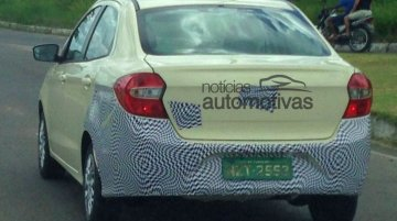 Ford Ka Sedan & Hatchback Spy