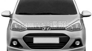 Hyundai Grand i10 patented in China - Gallery