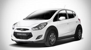 Belgium - Hyundai ix20 Cross pseudo crossover launched