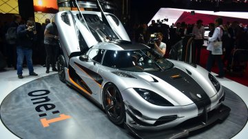 Koenigsegg One:1 in Geneva