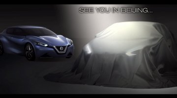 Nissan teases new concept sedan coming to 2014 Beijing Auto Show