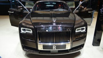 IAB Report - Rolls Royce Ghost Series II launched at INR 4.5 crores