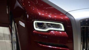 Geneva Live - Rolls Royce Ghost Series II unveiled