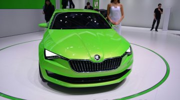 Geneva Live: Skoda VisionC [Update - Debuts in a new color at Goodwood]