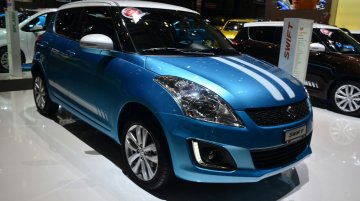 IAB Report - Suzuki Swift & Ritz Sergio Cellano special editions showcased at Geneva