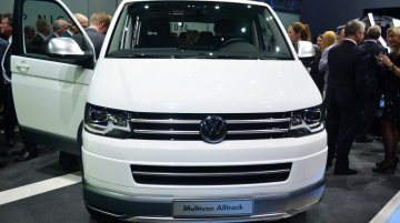 IAB Report - VW Multivan Alltrack shown at VW Group Night