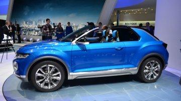 VW T-ROC at 2014 Geneva Motor Show