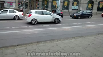 Spied - IAB reader snaps 2015 Opel Corsa in Germany