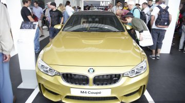2014 Goodwood Live - India-bound BMW M4 Coupe